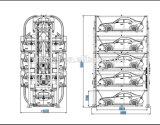 Vertikales rotierendes intelligentes Parken-System mit Cer