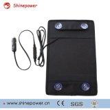 12 volts 10 watts de apoio portátil do carregador de bateria do painel solar da potência para o barco do carro com adaptador do agrafo