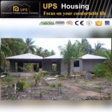 L'acier imperméable à l'eau antirouille renferme la villa en acier légère à la maison préfabriquée pour l'Afrique