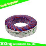 Fil Twisted jumeau flexible de câble isolé par PVC de Rvs
