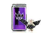 Decora Series for iPhone Crystal 3G / 3GS Case Special Bear Purple