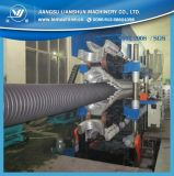 machine d'extrusion de pipe de mur du HDPE pp de 200-800mm double