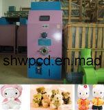 기계를 채우는 견면 벨벳 장난감은 충전물 기계 또는 인형 충전기를