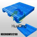 """(48 """" X40 """") stapelbare verstärkte verwendete Plastikgroßhandelsladeplatte des Lager-1200X1000 hauptsächlich"""