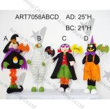 """16 """" Hx11 """" L chiffre de Veille de la toussaint avec le potiron et la décoration de Sign-3asst-Halloween"""