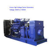 High Voltage gerador diesel 1000kVA a 5000KVA