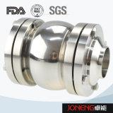 Tipo igienico valvola di ritenuta saldata (JN-NRV2002) della sfera dell'acciaio inossidabile