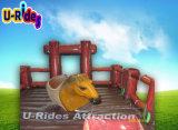 Simulateur de conduite mécanique gonflable de rodéo de cheval