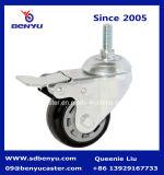 Supporto laterale 100% solido dell'unità di elaborazione di dovere generale che chiude la rotella a chiave della rotella girevole