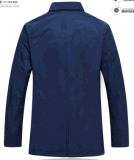 Оптовая куртка хлопка дела Wind-Proof передних людей весны OEM/застежки -молнии осени вскользь