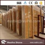 Possedere il marmo cinese dell'oro imperiale Polished della cava per la lastra/mattonelle/scala/controsoffitto