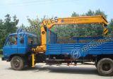 Grue montée par camion télescopique de haute résistance de perche (SQ16SA4)