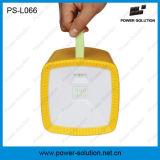 Lanterne campante actionnée solaire de musique multifonctionnelle avec le chargeur radio fm du mobile MP3