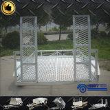 Nieuw Type  De Aanhangwagen van de Lading van de As achter elkaar op Hete Verkoop