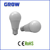 A60 E27 aluminio Bombilla LED con CE Certificado RoHS