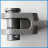 Промышленная выкованная цепь передачи соединения металла вилки утюга