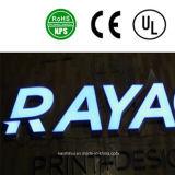 Carta de acrílico plástica de la muestra de la muestra de acrílico de la carta del LED
