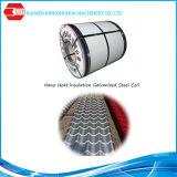 La alta calidad PPGI primero en China utiliza extensamente la hoja de acero galvanizada capa material nana