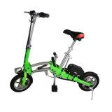 Bicicleta eléctrica de la nueva mini de 2 ruedas vespa plegable elegante de la bici