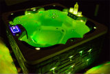 Hot acrilico Tub per Family 5 Persons con il LED Light