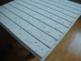 Panel de fibras mineral acústico, azulejo del techo suspendido