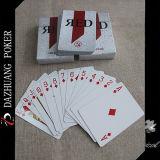 Kundenspezifische rote Spielkarte