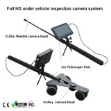 Neuer Arrival 1080P HD Mini Under Vehicle Inspection CCTV Camera Mast Pole mit Wheels mit 7 Inch DVR System