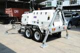 Serie H1000 mit 15kVA 404D-22g beweglichem heller Aufsatz-Generator-Set/Dieselgenerator