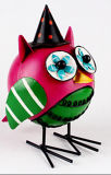 Animal do metal do pássaro do presente da arte popular do projeto do OEM para o jardim