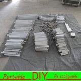 Alumínio modular flexível portátil do carrinho DIY da cabine da exposição da feira profissional