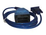 Câble diagnostique d'OBD de balayage de COM 409+for FIAT ECU de VAG Kkl pour Audi/véhicules de la portée/VW