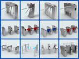 RFID Reader를 가진 주문을 받아서 만들어진 세륨 Dustproof Stainless Steel High Turnstile Tripod Turnstile