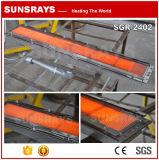Queimador de gás infravermelho cerâmico para o aquecimento industrial