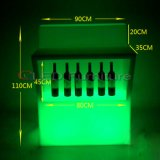 Vector de la barra ligera de los muebles LED de DJ que brilla intensamente para el club de noche del Pub