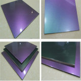 Facade를 위한 PE Coating Chameleon Aluminum Sandwich Panel