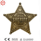 Qualité Custom Logo Metal Badge pour Police