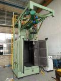 Kleiner Haken-Aufhängungs-Typ Granaliengebläse-Maschinen-automatisches Gleisketten-Riemen-Modell des Gussteil-zwei