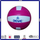 良質PVC革バレーボールによってカスタマイズされるロゴ