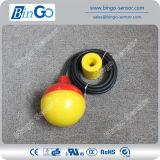 Электрический поплавковый выключатель PP цвета двойника кабеля уровня воды PP/Rubber