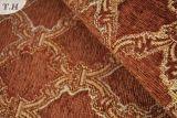 Краснокоричневая ткань 100% софы жаккарда синеля полиэфира 2016 (FTH31561)