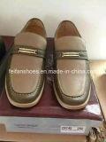 늦게 남자 고전적인 가죽 신발 사업 가죽 신발 주식 (FF328-6)