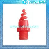 Type fileté par BSPT plein gicleur rotatoire de bec de pulvérisation à cône de spirale