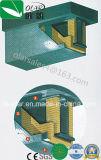 Placa à prova de fogo da Anti-Detonação --Placa como o núcleo, aço perfurado do cimento da fibra