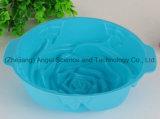 Grand moule à gâteaux de silicones de moulage de gâteau de silicones de fleur de Rose Sc08