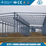 Almacén prefabricado profesional del panel de emparedado/estructura de acero