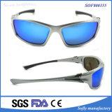 Люди высокого качества охлаждают солнечные очки спортов конструкции с голубым объективом