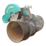 Электрический Собственн-Вползая станок для скашивания углов вырезывания трубопровода Wdg4-1