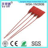 Da tração plástica da manufatura da fábrica do selo de China selo ajustável apertado do plástico do comprimento