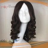 파도치는 유형 유태인 정결한 실크 최고 Virgin Remy 급료 머리 실크 최고 여자 가발