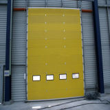 Portello scorrevole di alluminio della Camera moderna di disegno della griglia (HF-1019)